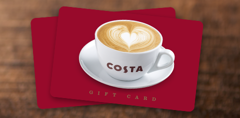 Costa Coffee For Business Gift Cards To Reward Motivate