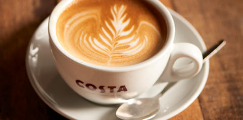 Costa Coffee Ready To Be Served